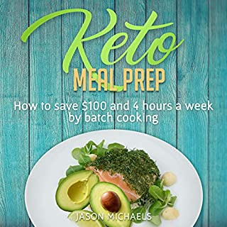 Keto Meal Prep      How to Save $100 and 4 Hours a Week by Batch Cooking              By:                                                                                                                                 Jason Michaels                               Narrated by:                                                                                                                                 Matt Assel                      Length: 2 hrs and 3 mins     Not rated yet     Overall 0.0