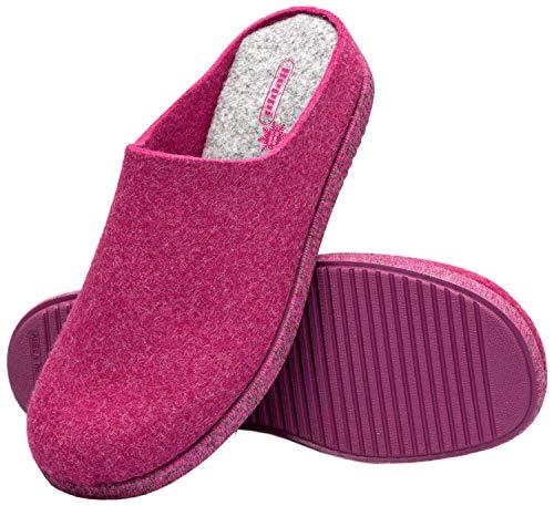 Beppi Basica Zapatillas de Estar por Casa - Pantuflas Mujer - Rojo