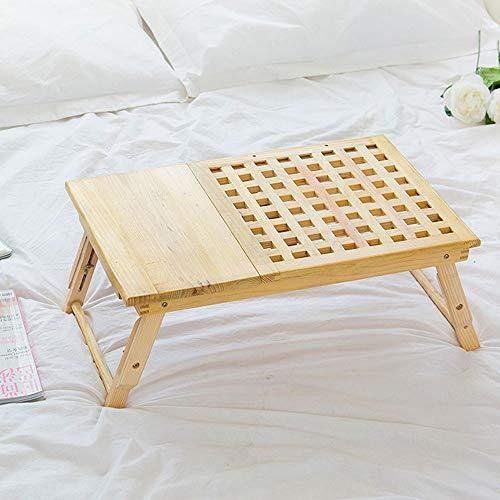 Blingstars opvouwbare bed lade lap bureau, draagbare lap bureau met tablet slots perfect voor kijken film op bed of als persoonlijk diner tafel