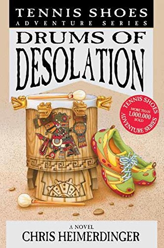 Price comparison product image Tennis Shoes Adventure Series: Drums of Desolations Book on CD
