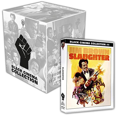 Slaughter (Black Cinema Collection #01) inkl. Sammelschuber - Limited Collector's Edition (+DVD) [Blu-ray]