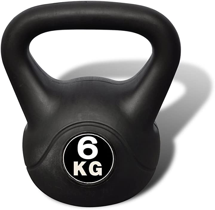 Kettlebell 6 kg festnight RWX6727153920422LR