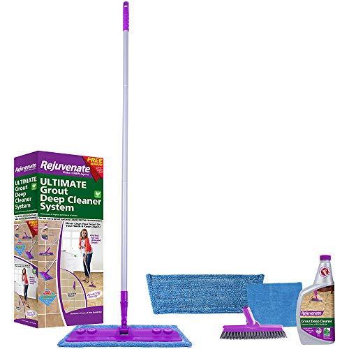 Rejuvenate Deep Cleaner and Grout Brush System, Acid Free - RJ24DCKIT