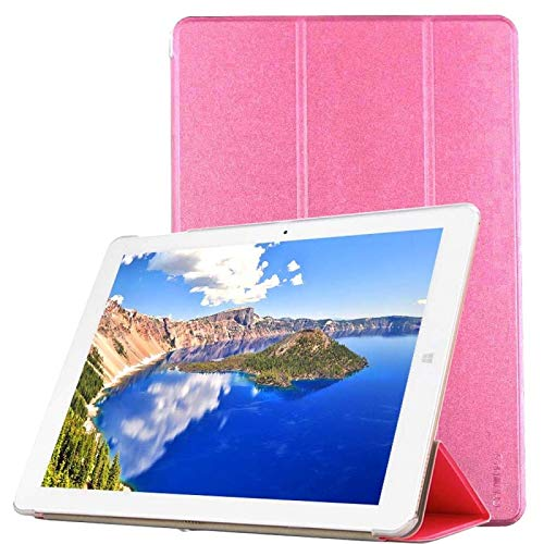 OCUBE (#52 für Chuwi Hi12 Tablet Frosted Texture Horizontal Flip Solid Color Leather Case (Pink)