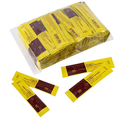 100Pcs Tattoo Aftercare Balm Anti-Scar Tattoo Professional Makeup Aftercare Repair Cream Healing Vitamin Ointment
