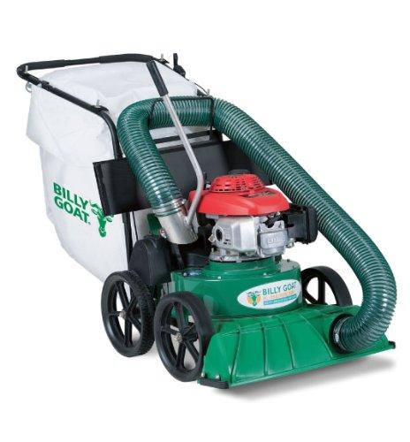 Billy Goat KV650H Lawn and Litter Vacuum, 187 cc Honda, Mesh Bag with Dust Skirt