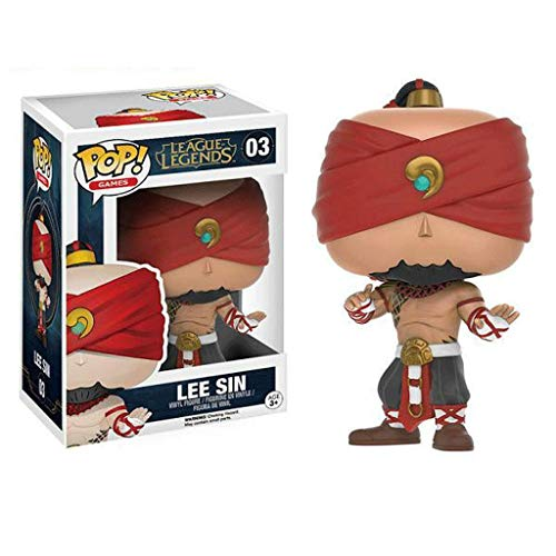 Funko Pop Games : LOL - Lee Sin 3.75inch Vinyl Gift for Game Fans SuperCollection