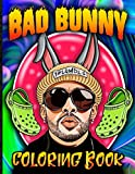 Bad Bunny Coloring Book: Bad Bunny Coloring Books For Adult And Kid Awesome Collections