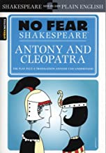 No Fear: Antony and Cleopatra (Sparknotes No Fear Shakespeare) by William Shakespeare (1-Aug-2006) Paperback