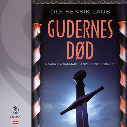 Gudernes død audiobook cover art