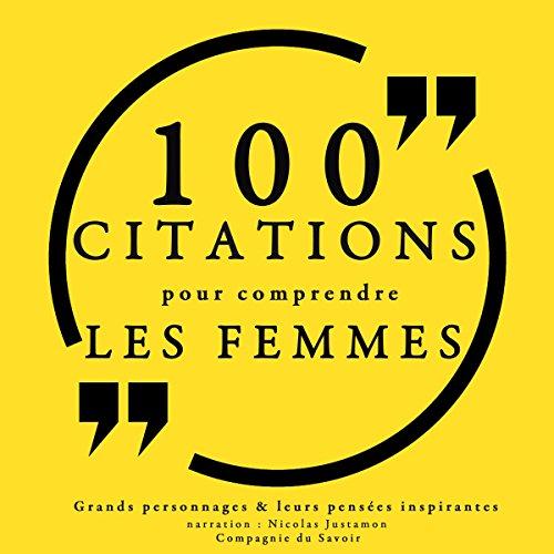 Couverture de 100 citations pour comprendre les femmes