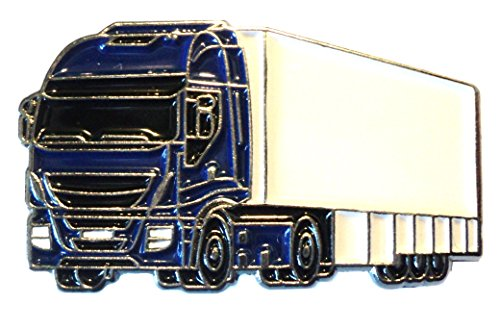 LKW Artic LKW Truck & Trailer Metall Emaille Pin Badge