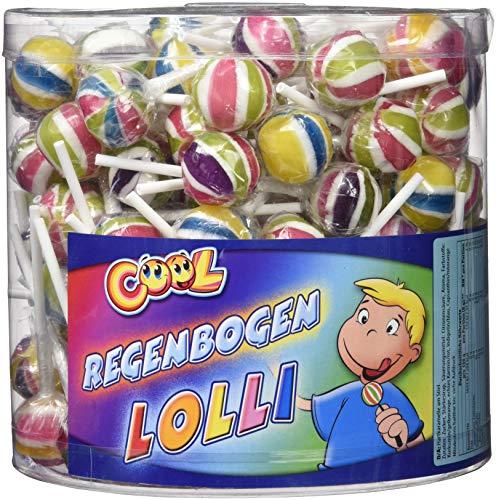 Cool Regenbogenlolli, 1er Pack (150x 8 g)