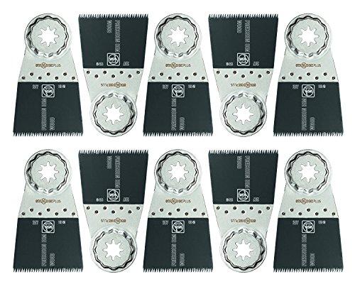 Best Buy! Fein 63502207290 Bi-Metal Precision Oscillating Blade (10 Pack), 2-3/16 16 x 2