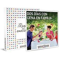 Smartbox - Caja Regalo - Dos días con Cena en Familia - Idea de Regalo - 1 Noche con Desayuno y Cena para 2 Adultos y hasta 2 niños