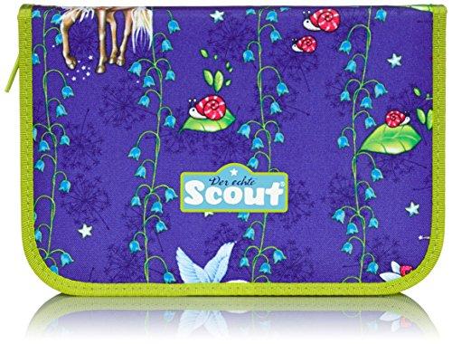 Scout Schulranzen-Set Etui 23 TLG Sunrise 20 cm Blau 66240050500