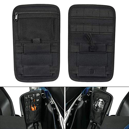 PBYMT Saddlebag Organizer Saddle Hard Bag Storage Compatible for Harley Touring Road King Street Electra Glide 1980-2020