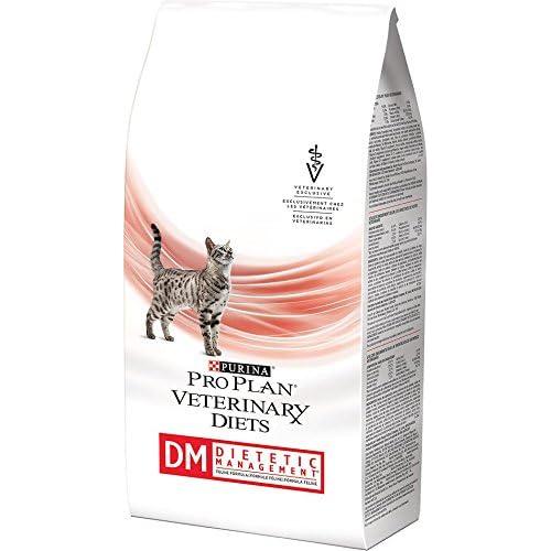 Purina Veterinary Diets DM Dietetic Management Feline Formula Dry Cat Food 6 lb bag