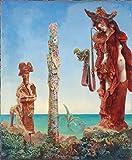 Max Ernst Giclee Auf Leinwand drucken-Berühmte Gemälde