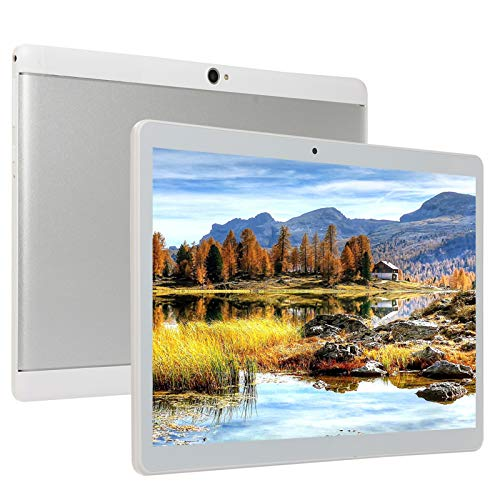 10.1 Inch Android Tablet, Android 8.0 Tablet 10 Core with Dual Camera, 6GB Ram+64GB Disk, Wifi, Bluetooth, 1960x1080 IPS Screen