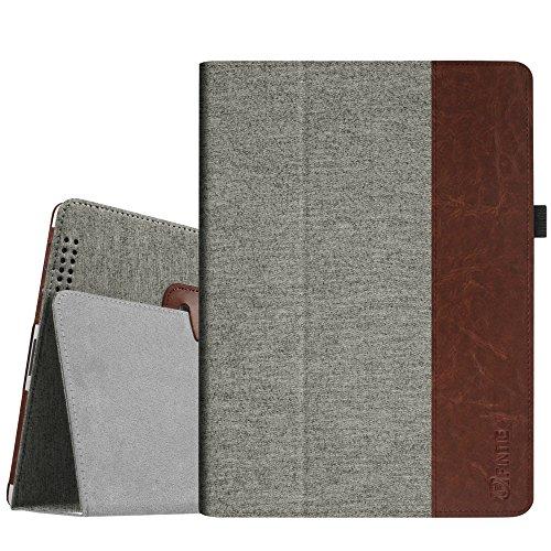 Fintie iPad 2/3 / 4 Hülle Case - Folio Slim Fit Stoff Schutzhülle Cover Tasche Etui mit Auto Schlaf/Wach Funktion für Apple iPad 2 / iPad 3 / iPad 4, Denim grau