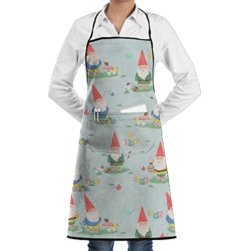 未标题-1 0004 图层-10cute Gnome Chef Kitchen Apron Save-all High Wrinkles Barbecue Towel