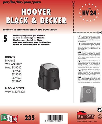 Elettrocasa HV 24 Sacchetto per la polvere
