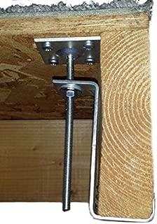 Squeak Ender 2084 Hardwood Floor / Subfloor Squeak Eliminator Brackets - Quantity 4