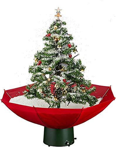 Posten Anker Sztuczna choinka 80 cm I Choinka I Choinka I ze wspaniałą muzyką i dekoracją I Kompletny zestaw I z funkcją śniegu I Śniegające drzewko bożonarodzeniowe I choinka I