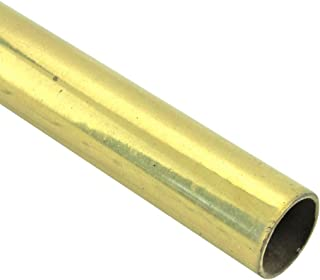 Renovator's Supply Smooth Bright Brass Stair Carpet Rod Tubing 1/2