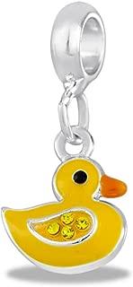 DaVinci Yellow Duck Dangle Bead