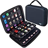 ButterFox Large Capacity USB Thumb Flash Pen Drive Storage Holder/Memory Card SD SDXC SDHC Card Holder Case/External Hard Drive Case/Universal Electronic Accessories Organizer