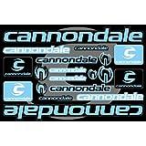 Cannondaleデカールステッカー自転車フレーム交換用グラフィックセット# 4