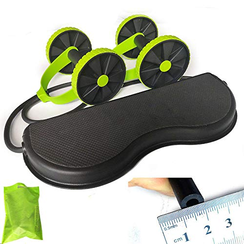 HUYHUY Abnehmen Ab Roller Rad Bauch Trainer Rad Arm Taille Bein Übung Multifunktionale Fitnessgeräte Übung