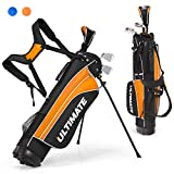 Tangkula Junior Complete Golf Club Set for Children Ages 8 and Up, Right...