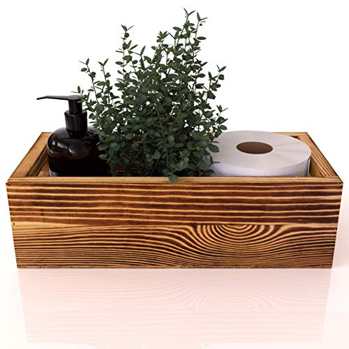 Top 10 best selling list for wood toilet paper holder box