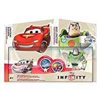 Disney Infinity TRU Exclusive Race to Space Pack with Crystal Lightning McQueen, Buzz Lightyear with C.H.R.O.M.E. Damage Increaser and Zurg's Wrath Power Discs (PS3/Xbox 360/Nintendo Wii/Wii U/3DS) (北米輸入版)