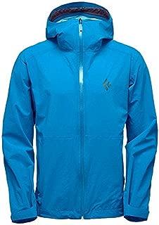 Black Diamond Men's StormLine Stretch Rain Shell Kingfisher Blue XL