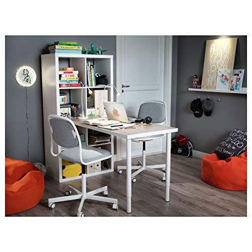 IKEA OLOV - Pata ajustable 60-90 cm, color blanco 1 unidad