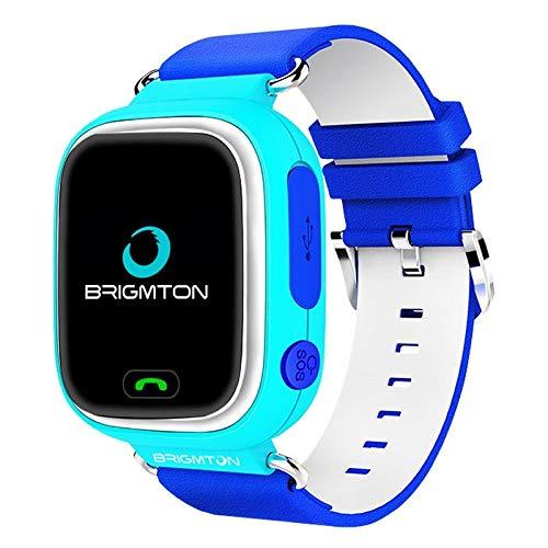 Brigmton BWATCH-Kids SmartWatch GPS, Azul