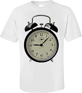 Funny Alarm Clock - Minutes Hours Seconds Hands - Wakeup Humor - Unisex T-Shirt