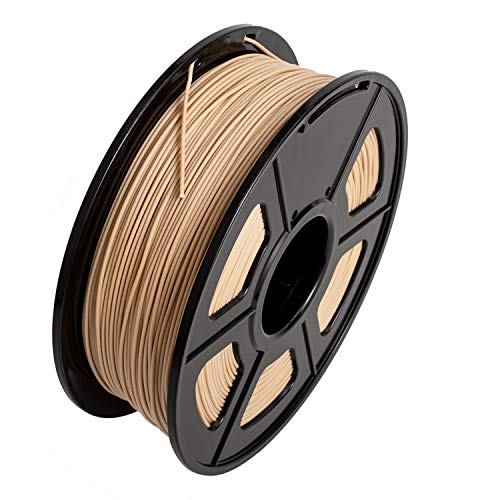 SUNLU Filament 3D Filament Wood Filamento 1,75 mm, Précision +/- 0,02 mm, 1 kg (Wood)