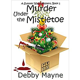 Murder Under the Mistletoe cover art