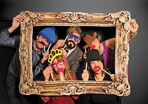 Close Up Photo Booth Requisito Foto Quadro