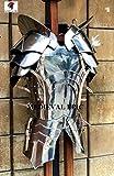 Medieval Epic Disfraz de caballero del siglo 15 medio traje de armadura para Halloween