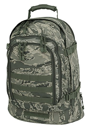 Mercury Tactical Gear Code Alpha 3 Day Stretch Tactical Backpack, Air Force Digital Camouflage, One Size