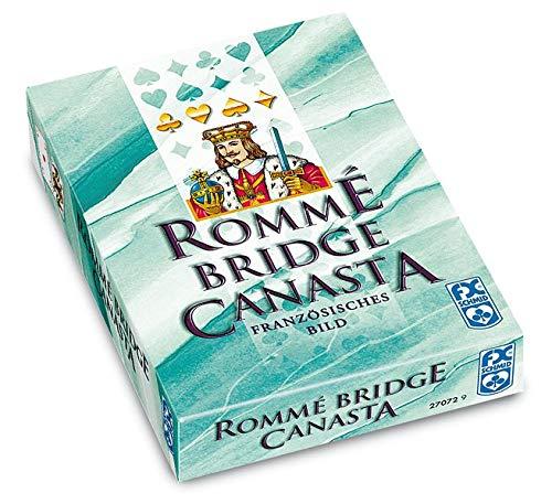 Ravensburger Spielkarten 27072 - Rommé, Canasta, Bridge