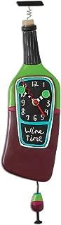 Wine Bottle Designed Clock, Corked, Wine Time