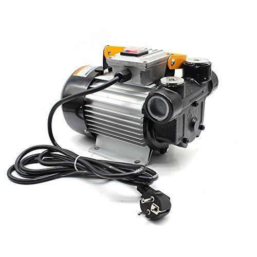 RANZIX Heizölpumpe Dieselpumpe Selbstansaugend 230V Fasspumpe Diesel Kraftstoffpumpe Ölabsaugpumpe 60L/min nur für Diesel und Heizöl