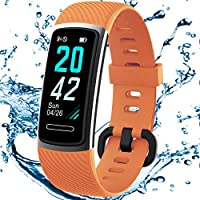 TEMINICE High-End Fitness Trackers HR, Activity Trackers Health Exercise Watch with Heart Rate and Sleep Monitor, Smart...